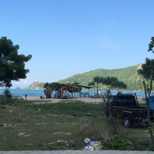 Lombok Island - Kuta beach