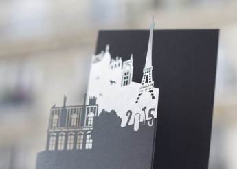 Aurelie Dhuit Paris custom card