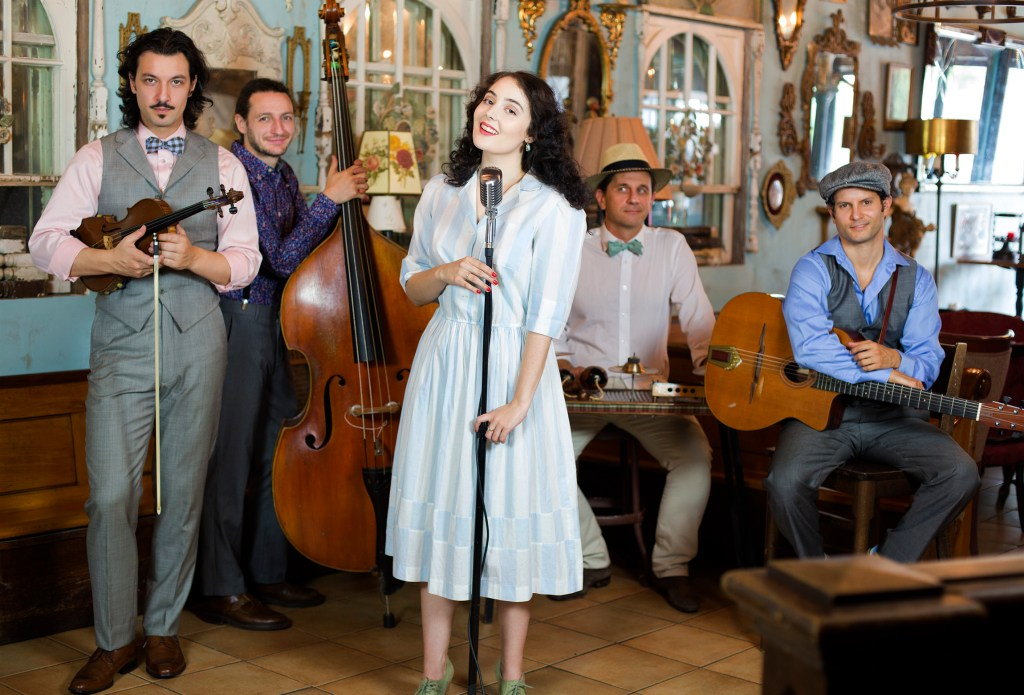 Tatiana Eva-Marie and the Avalon Jazz Band