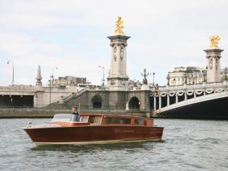 River Limousine boat cruise Paris
