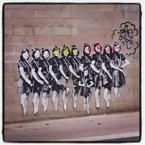 Street art in 75013 - Photo Credit Heather Stimmler-Hall