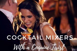 Cocktail Mixers with a Coquine Twist Launch Event!