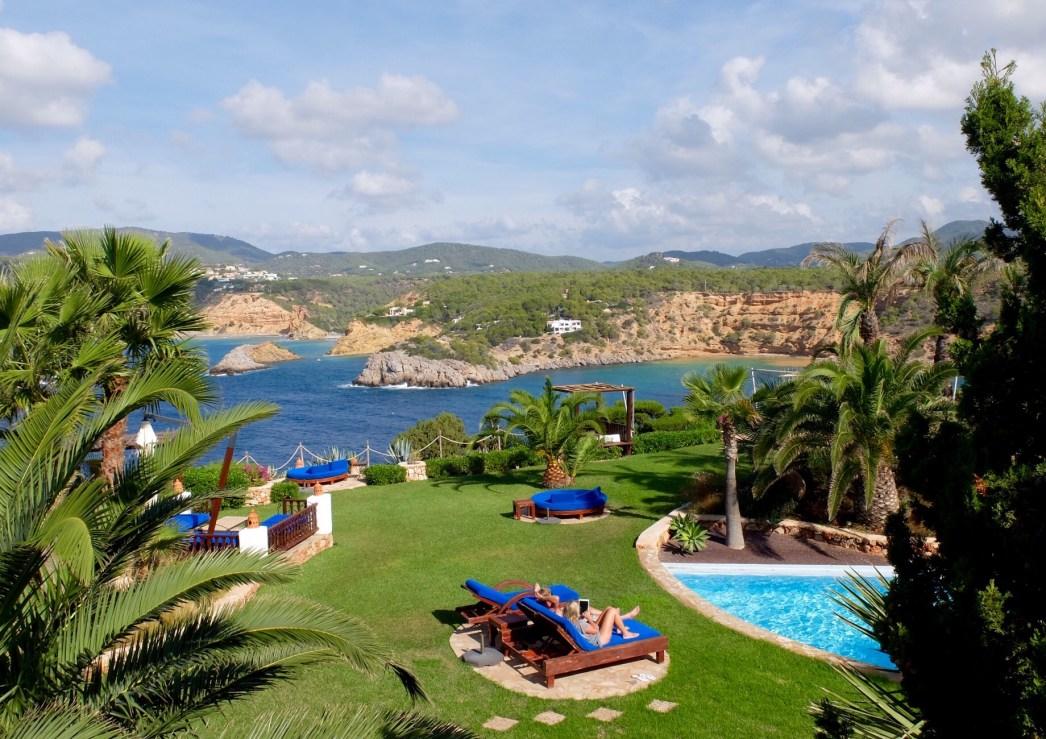 hotel Las Brisas Ibiza view