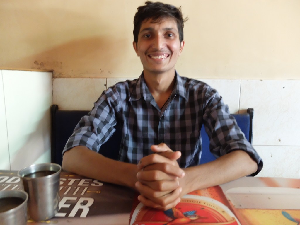 Nikesh, a student guide of Mystical Mumbai