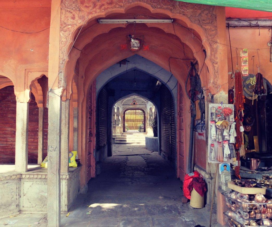 Jaipur-courtyard