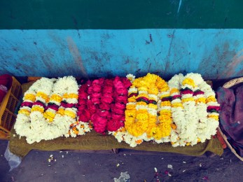 Temple-Flowers-India