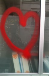 heart grafitti