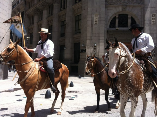 traditional horse riders - buenos aires