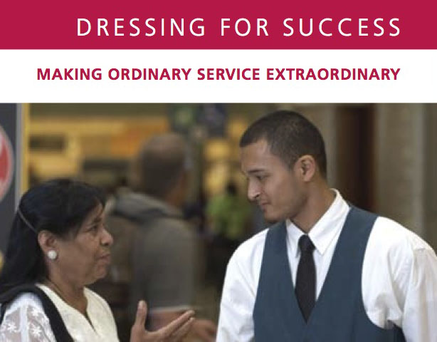 dress for success and customer service jetatl