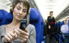 british airway cell phone on airplane
