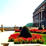 Gorgeous garden within Buda Castle