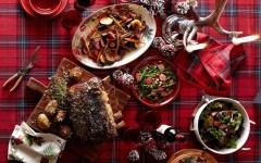 christmas holiday dinner
