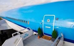 KLM Airbnb airport