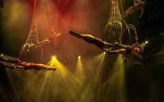 Le Reve Wynn Las Vegas trapeze