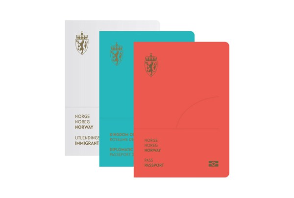 Norway passport cover