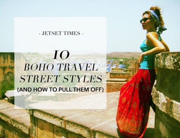 10 Boho travel street styles