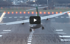 Birmingham Airport England landings