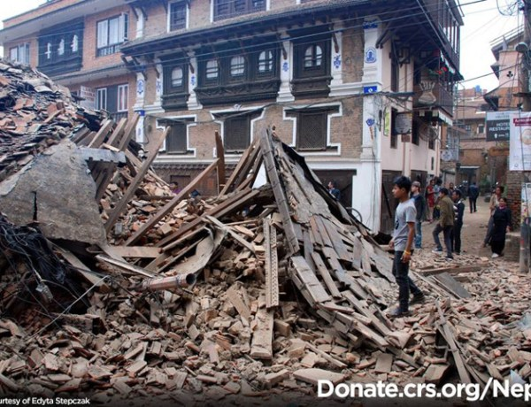 Catholic Relief Services Facebook Nepal Earthquake