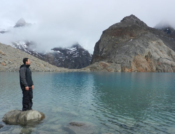 Standing In Awe of Lago de los Tres