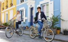 Facebook Velib Paris bicycle
