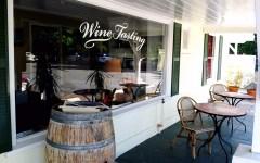 Wine tasting room in Calistoga