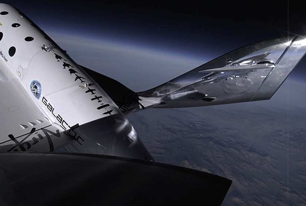 SpaceShipTwo Virgin Galactic 2