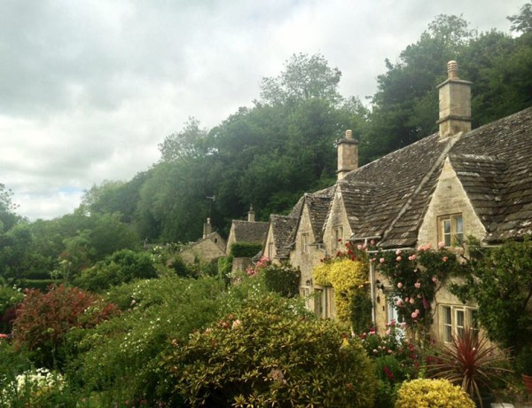 Bibury English village