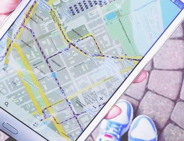 MAP.ME app