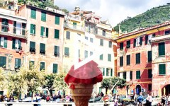 Italian Foods in Cinque Terre Play Button