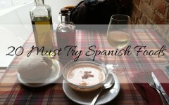 20 must try spanish foods