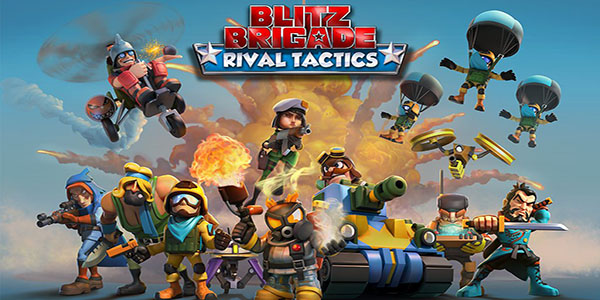 Blitz Brigade Rival Tactics Astuce Triche Diamants et Pieces