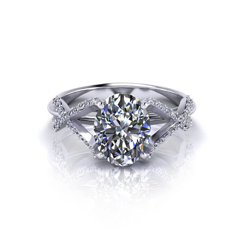 Large Of Oval Engagement Rings