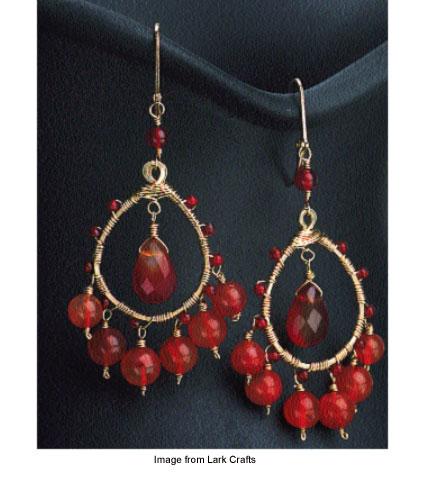 Bollywood inspired earrings