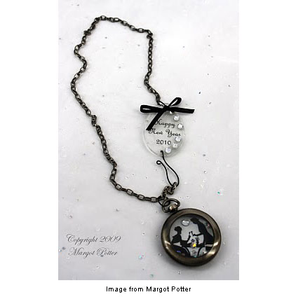 As time goes by necklace from Margot Potter