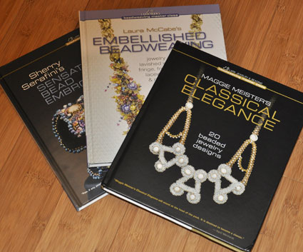 3 Beadweaving Master Series books from Lark