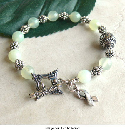 """Celiac Awareness Bracelet--Style 2"" by Lori Anderson"