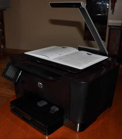 HP TopShot multifunction printer