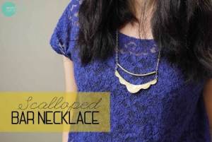 Scalloped Necklace