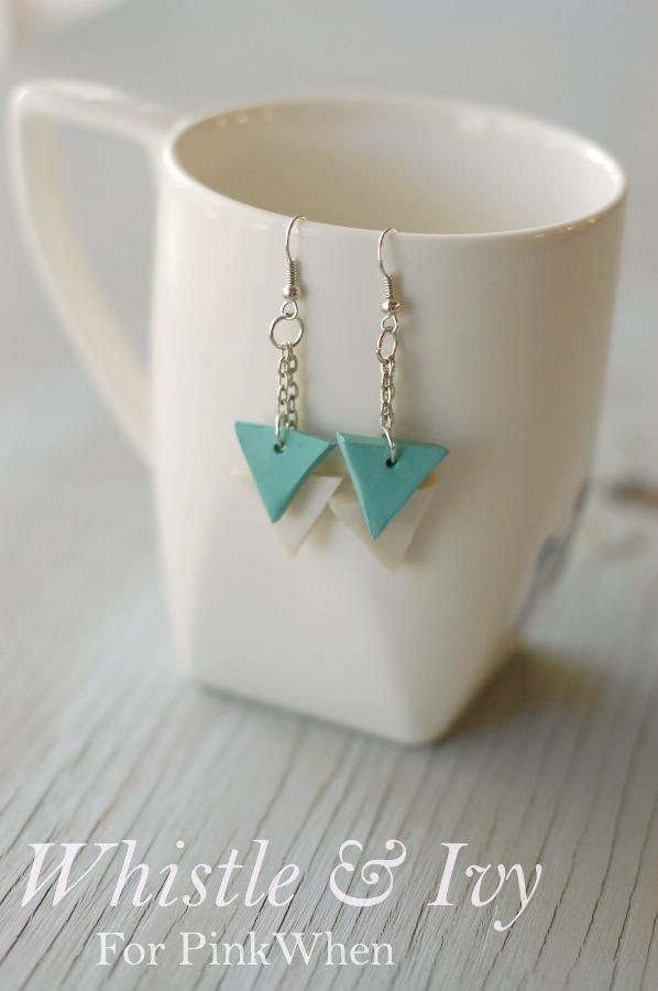 Diy-Polymer-Clay-Geometric-Earring-Tutorial