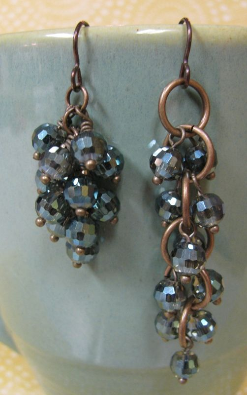 DIY Grapevine Cluster Earrings DIY Grapevine Cluster Earrings new picture