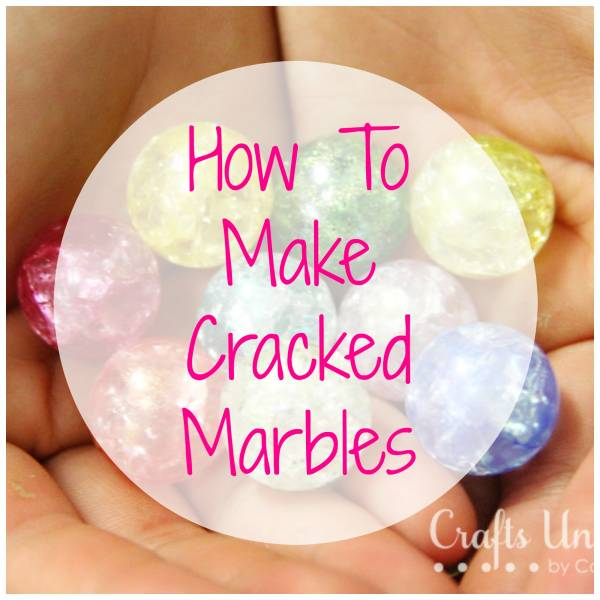 How to make cracked marbles to use in your jewelry making for How to make marble jewelry