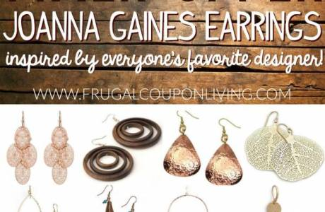 Earring Styles Inspired by Joanna Gaines