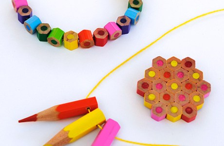 Back to School Pencil Necklace