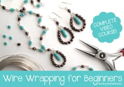 Wire Wrapping for Beginners: COMPLETE VIDEO COURSE!