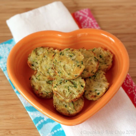 Zucchini Tater Tots from Cupcakes and Kale Chips