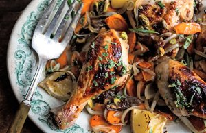Sweet and Spicy Roasted Chicken