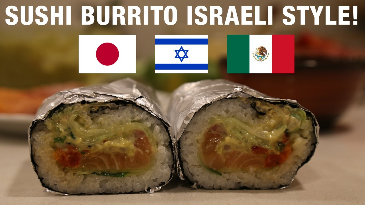 Israeli Sushi Burrito: Full Kosher Recipe