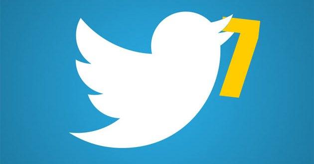 Twitter cumple 7 años!
