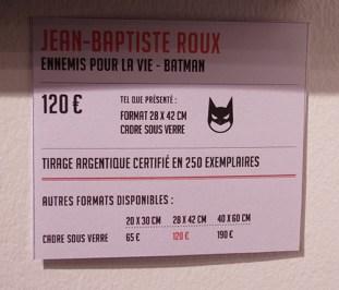 Ennemis pour la vie - Batman - JB Roux !