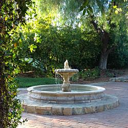 Fountain at Rancho La Puerta / Jill Silverman Hough